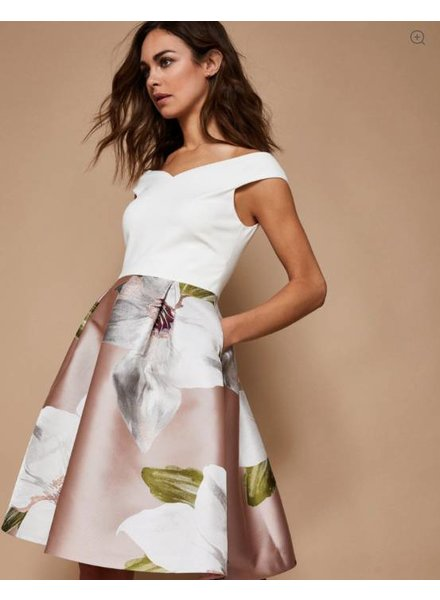 Ted Baker Chatsworth Off-shoulder Dress