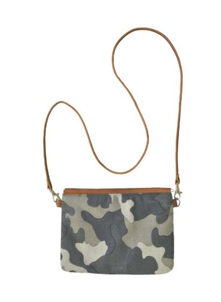 Paisley Road Camo Sling with Leather Strap