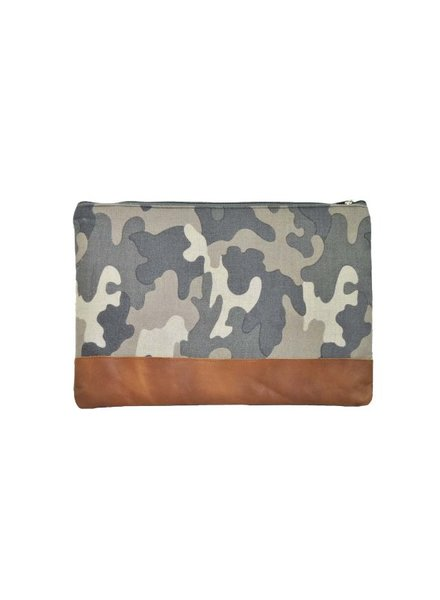 Paisley Road Camo Laptop Pouch