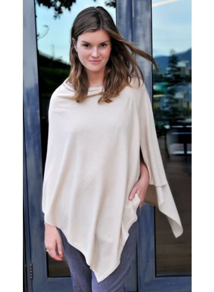 Paisley Road Cotton with Cashmere Poncho