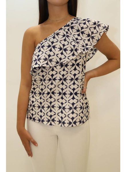 Oliphant Paradiso One Shoulder Top