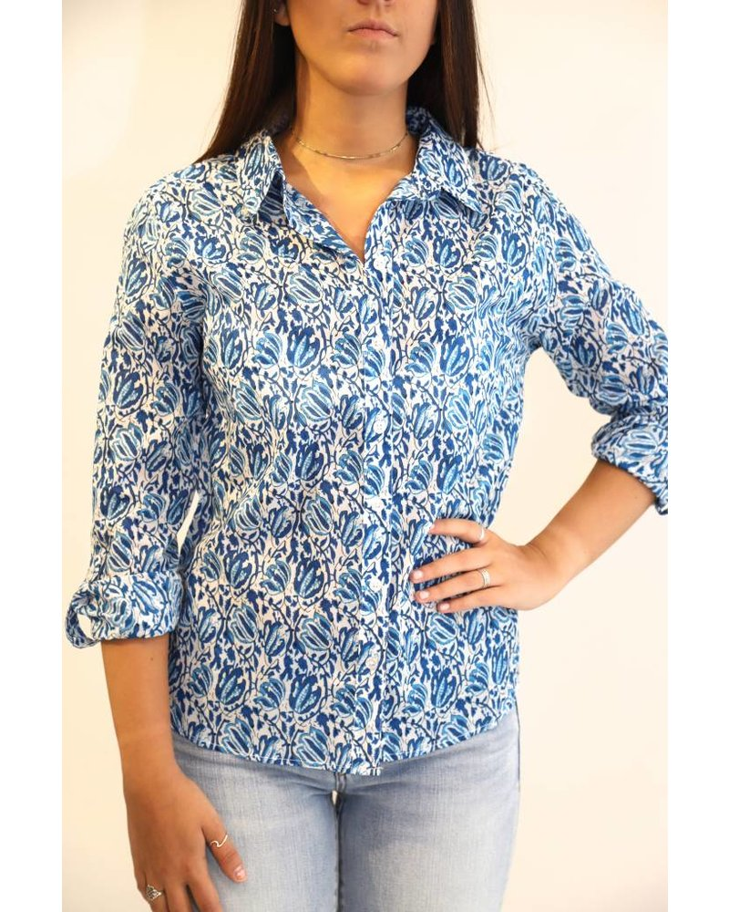 French Collection Cotton Print Shirts