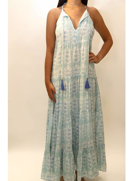 Oliphant Long Tiered  Dress