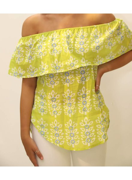 Oliphant Off Shoulder Top