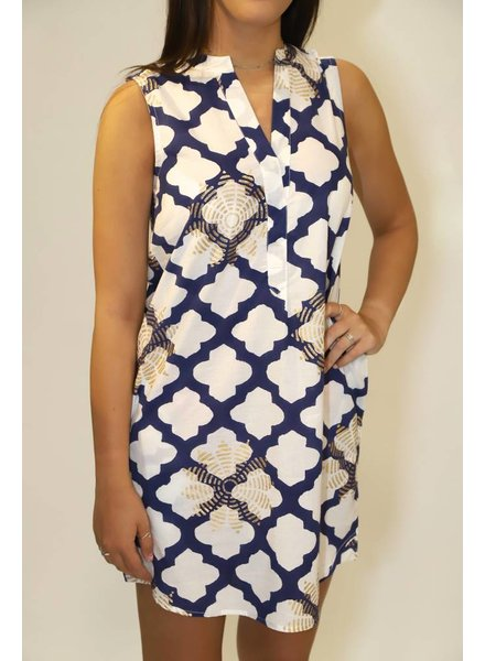 Oliphant Sleeveless Pocket Dress