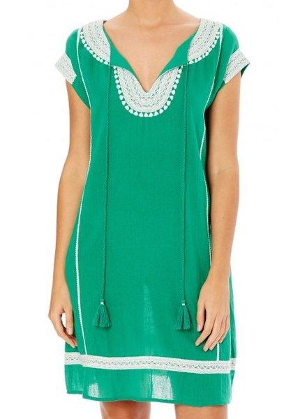 Star mela Evie Embroidered Dress