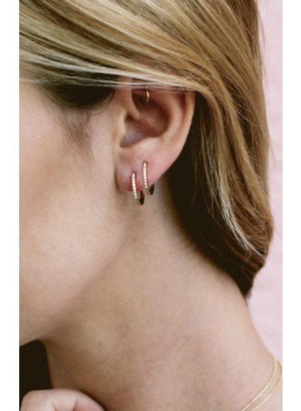 Five and Two Kennedy Petite Hoop Earring
