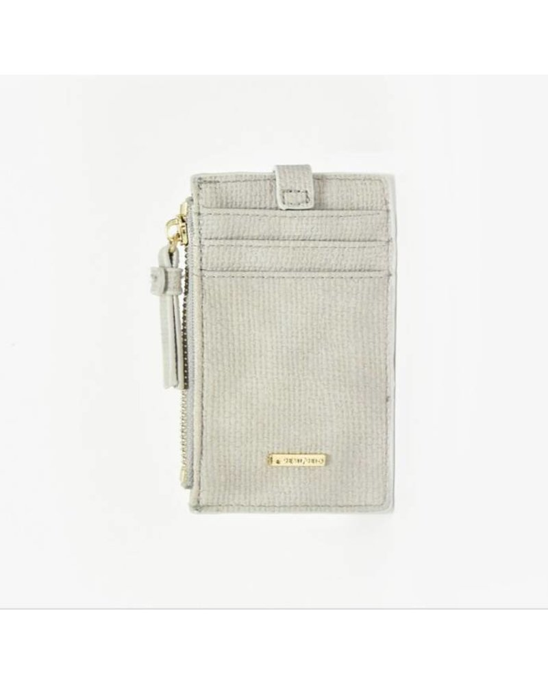 Remi/Reid Lani Linen Zip Card Holder