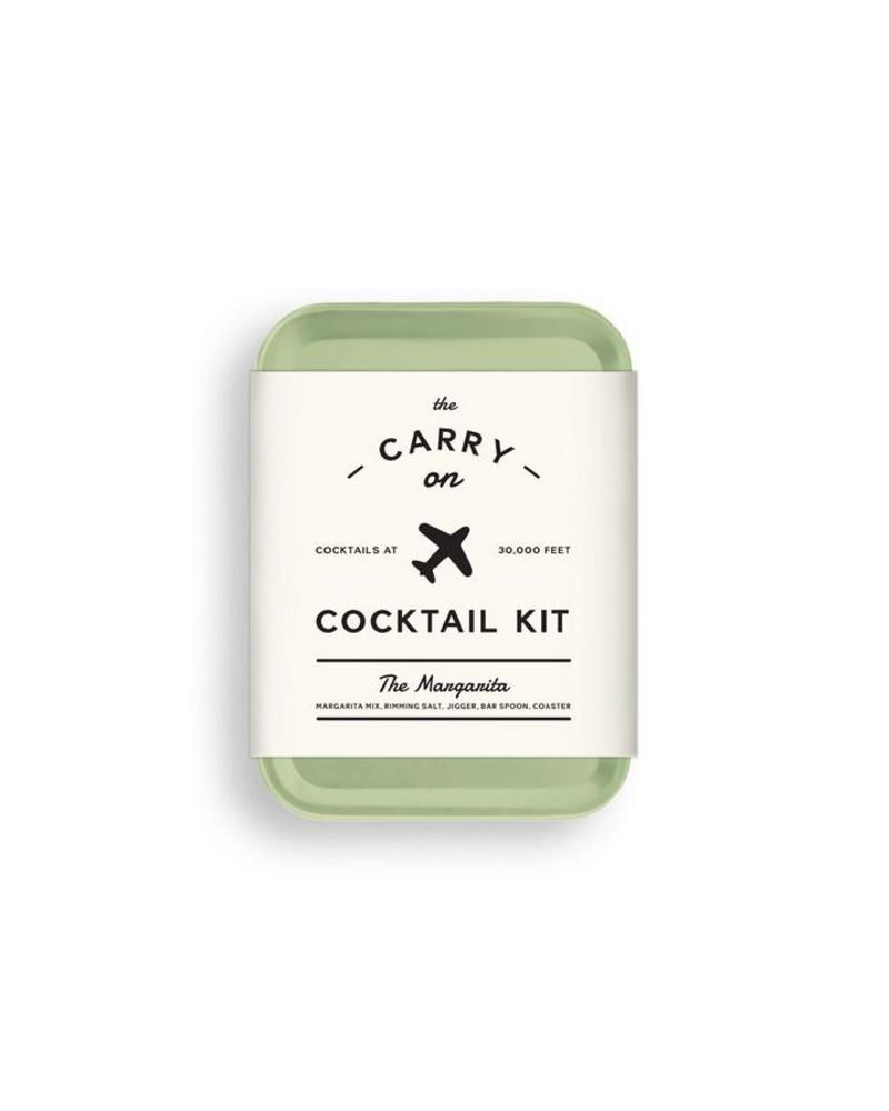 W & P Design The Carry On Cocktail Kit