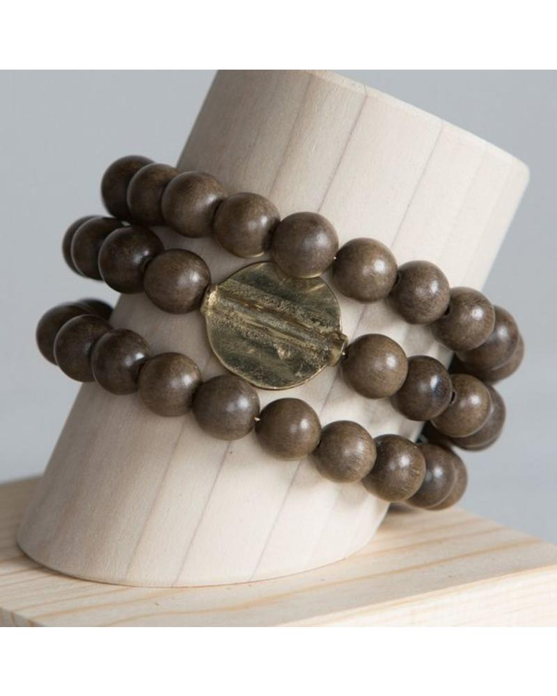 Stone + Stick Golden Disc Triple Wrap