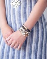 Stone + Stick Hopscotch Triple Wrap Bracelet