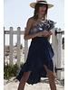 Misa Luz Hi-Low Ruffle Skirt