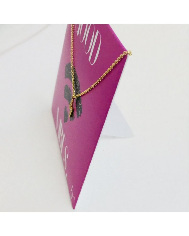 Be The Good Good Vibes Lightning Bolt Necklace