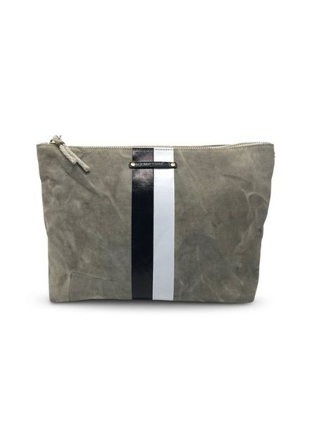 Kempton & Co Postal Stripe Pouch