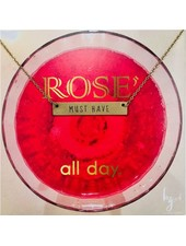 Be The Good Rose All Day Bar Necklace