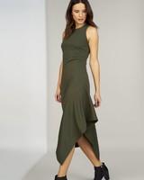 Hutch Jo - Cutaway Midi Dress