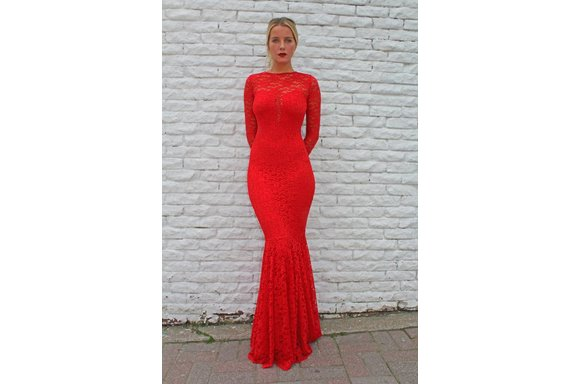 Gown (Red Lace)