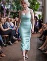 Halter Midi Gown (Mint)