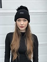 Sooley Designs Hat - Cashmere (Black/XL Black Pom)