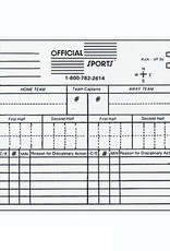 Official Sport Report Forms - White