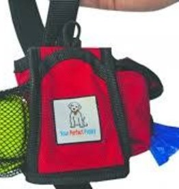 Your Perfect Puppy TREAT POUCH RED