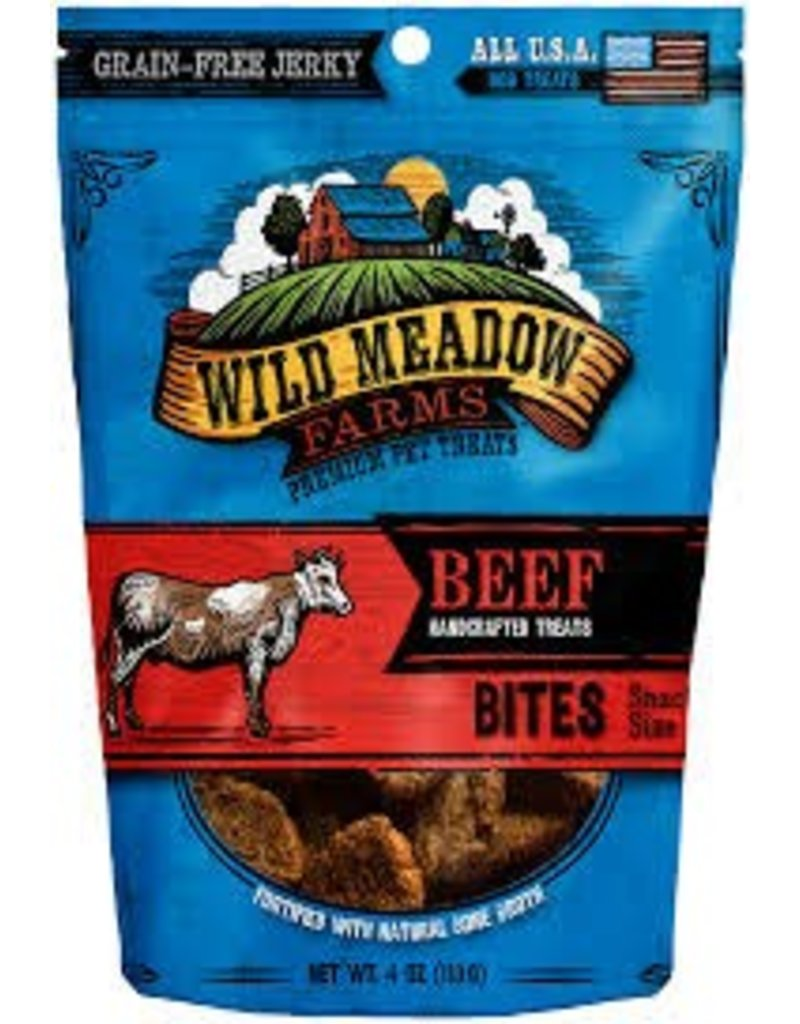 Wild Meadow Farms Wild Meadow Farms Beef Bites Dog Naturals Grooming