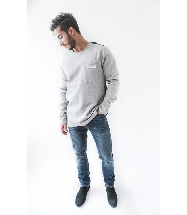 SCOTCH AND SODA CREWNECK SWEAT - 577 GREY