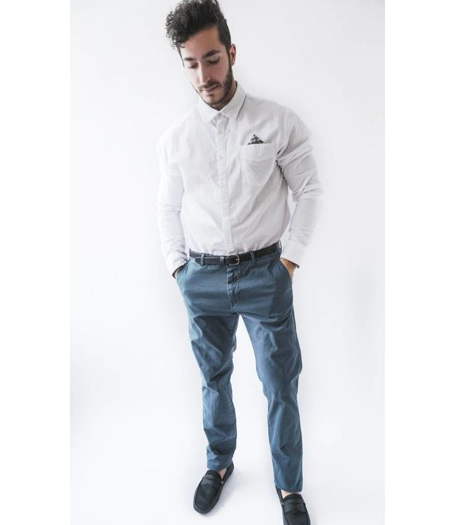 SCOTCH AND SODA CLASSIC GARMENT CHINO -NAVY
