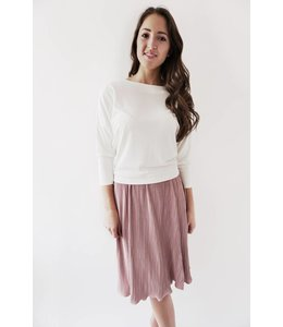 GENTLE FAWN ERIKA SWEATER - 1207 - WHITE