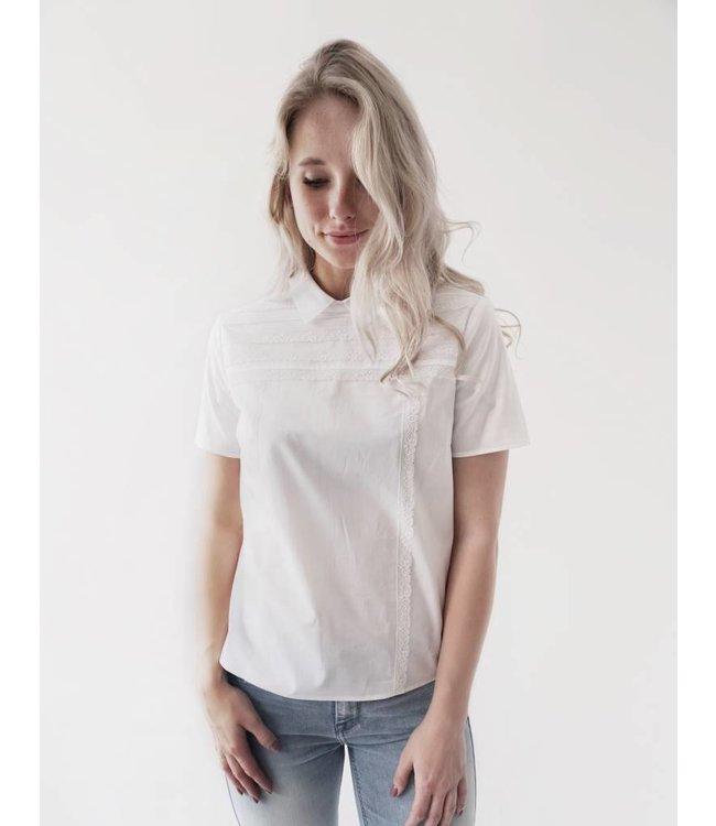 SET SS BLOUSE - 799 - WHITE
