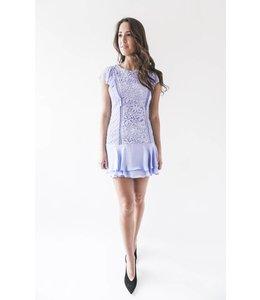 PARKER BENNETT DRESS - SPIL - LILAC