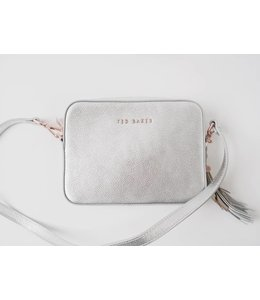 TED BAKER DARWINA CAMERA BAG - SILVER