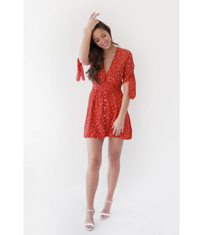 BIRGIT DRESS - 100 - CHERRY PRINT