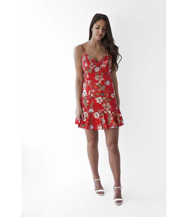 PARKER DANY DRESS - CSN - RED SANGRIA
