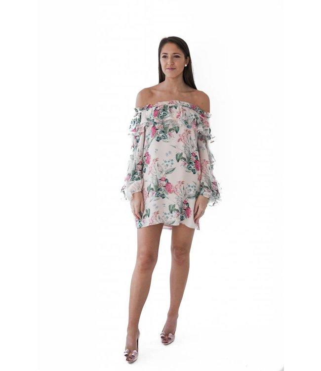 PARKER ISA COMBO DRESS - GEP - FLORAL