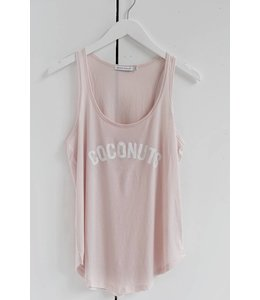 SOUTH PARADE BELLA TANK - COCONUT - PINK
