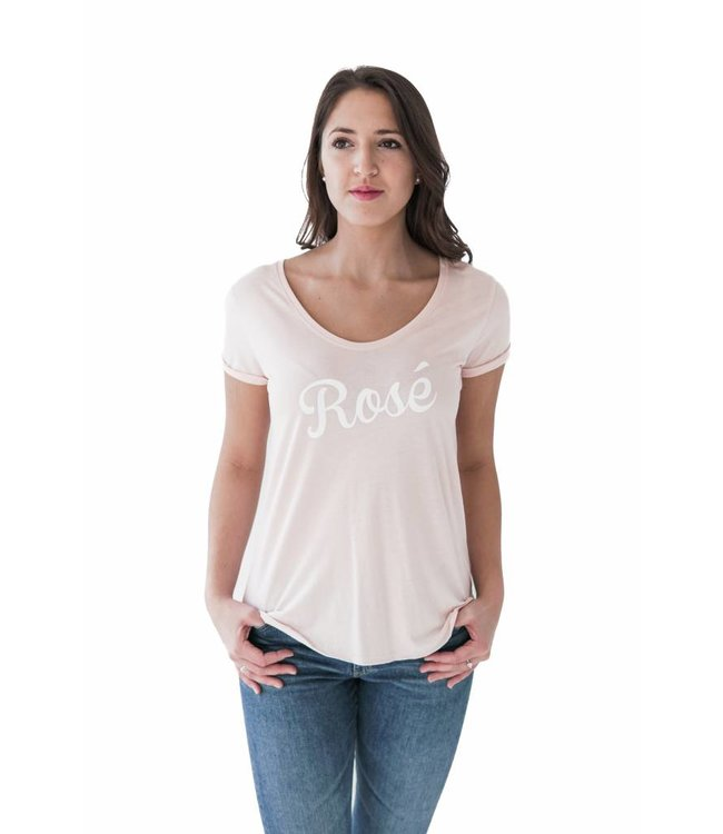 SOUTH PARADE VALERIE TEE - ROSE - PINK