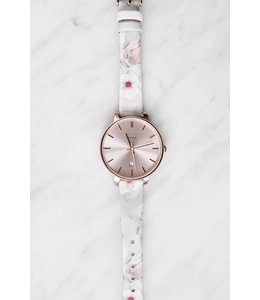 KATE WATCH - 5004 - FLORAL GREY -