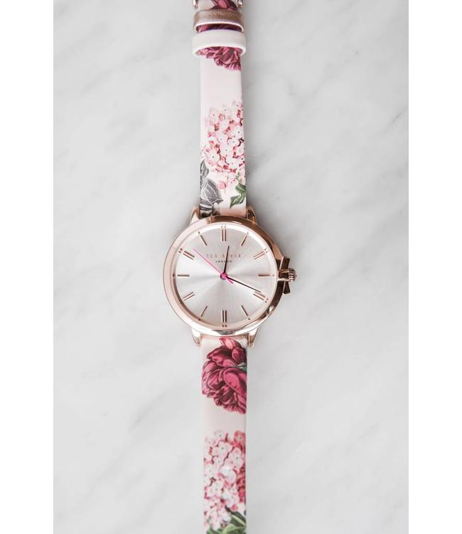 TED BAKER RUTH WATCH - 7001 - PINK FLORAL
