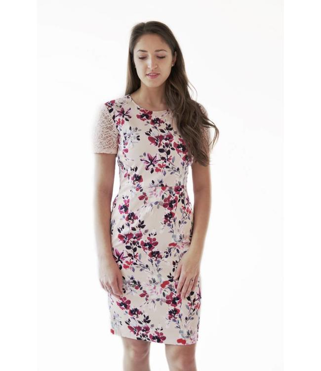 FRENCH CONNECTION LINOSA DRESS - JDF - FLOWER PRINT
