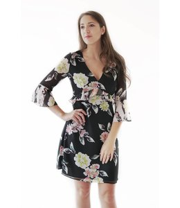 FRENCH CONNECTION ENOSHIMA DRESS - JBK - FLORAL
