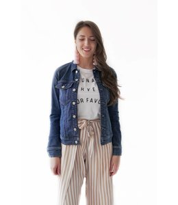7 FOR ALL MANKIND JEAN JACKET - EDPT