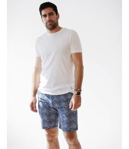 SCOTCH AND SODA CHINO SHORT - BLUE/NAVY - 431 -