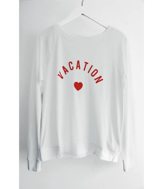 SOUTH PARADE CANDY LS - VACATION - WHITE