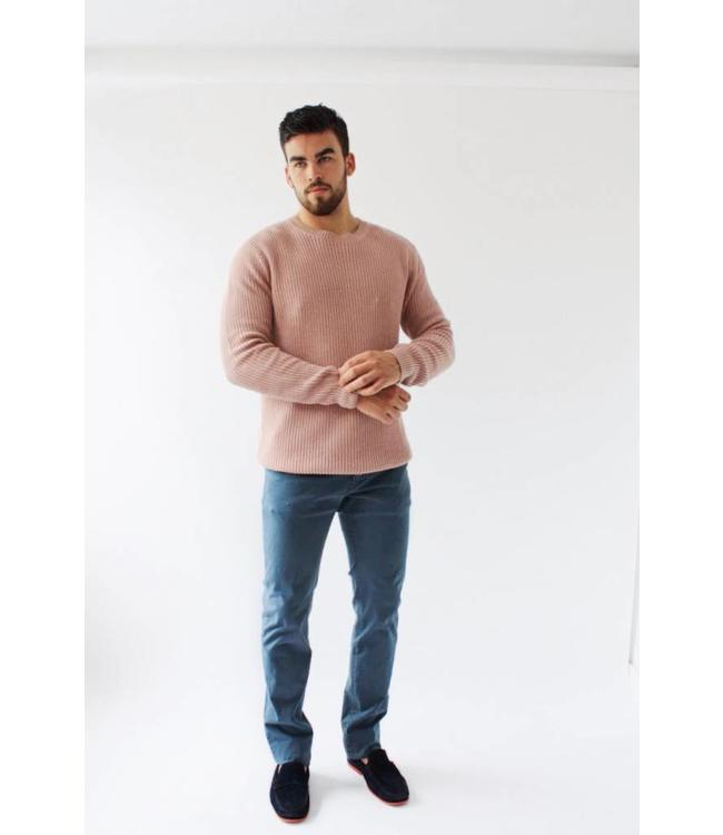 SCOTCH AND SODA SUMMER SWEATER - OLD PINK - 752 -