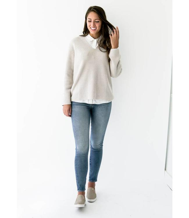 7 FOR ALL MANKIND HW ANKLE SKINNY - 9120 - MUSE