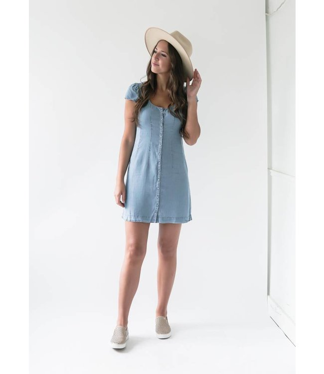 GENTLE FAWN MADDIE DRESS - 8332 - BLUE