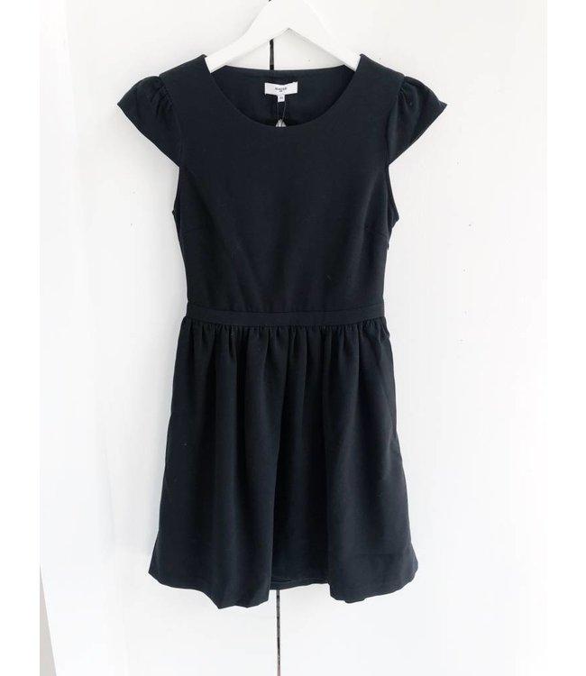 SUNCOO CALIXTINE DRESS - 397 - BLACK