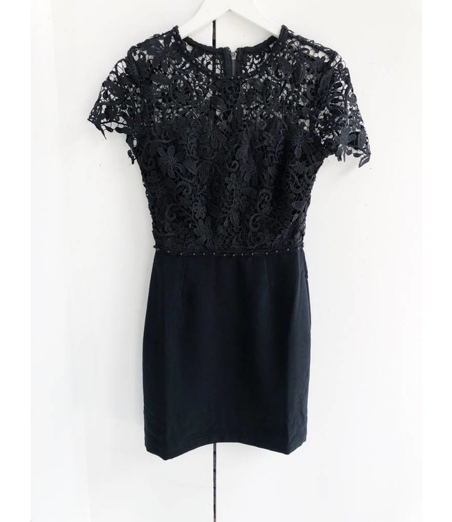 ADELYN RAE BLYTHE LACE DRESS - 3800 - BLACK