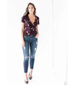 GENTLE FAWN ALESSIA TOP - 2358 - WINE